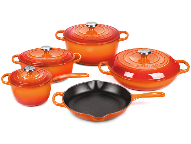 Le Creuset Signature Cast Iron 9 Piece Cookware Set - Exclusive