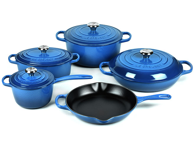 Le Creuset Signature Cast Iron 9 Piece Cookware Set - Exclusive