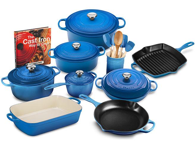 Le Creuset Signature Cast Iron 20 Piece Cookware Set - Exclusive