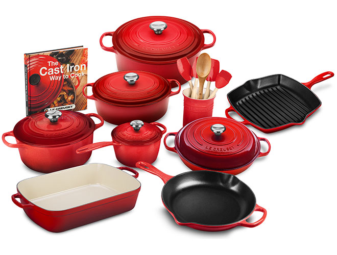 Le Creuset Signature Cast Iron 20 Piece Cookware Set - Exclusive