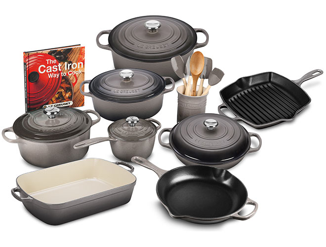 Le Creuset Signature Cast Iron 20 Piece Cookware Set