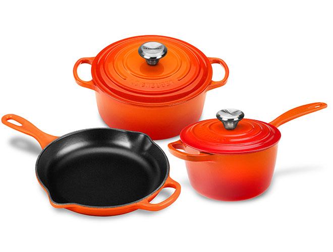 Le Creuset Signature Cast Iron 5 Piece Cookware Set - Exclusive