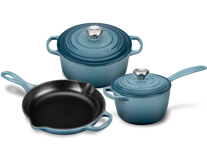 Le Creuset Signature Cast Iron 5 Piece Cookware Set