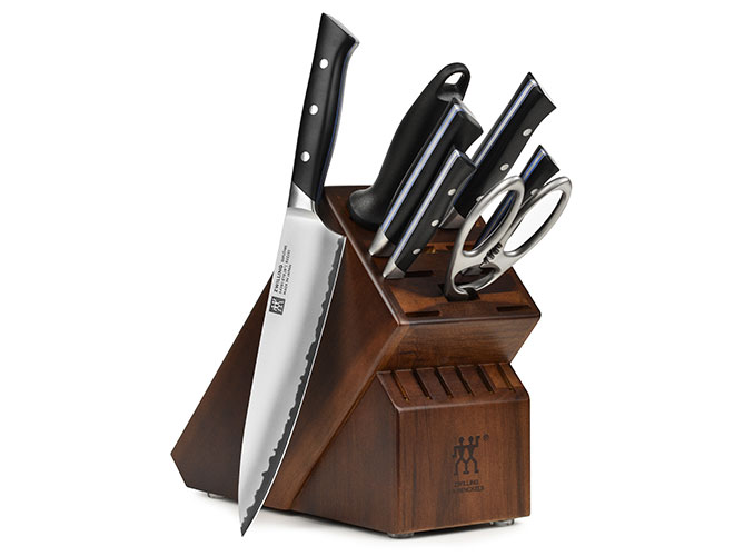 Zwilling J.A. Henckels Diplome 8 Piece Walnut Knife Block Set