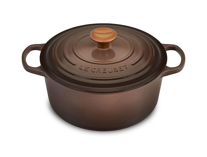 Le Creuset Signature Cast Iron 5.5-quart Truffle Round Dutch Oven