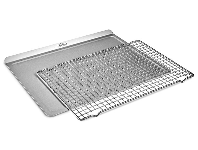 All-Clad d3 Tri-Ply Stainless Steel Baking Sheets