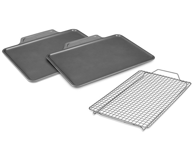 All-Clad 3 Piece Pro-Release Nonstick Cookie Sheet Set