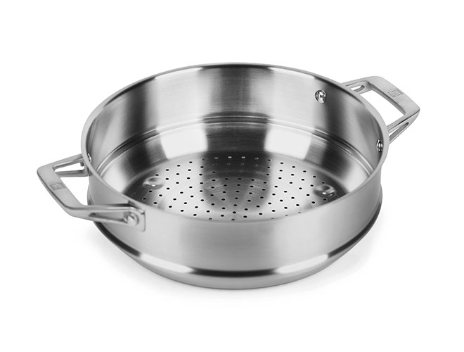 Zwilling J.A. Henckels Motion 5-quart Stainless Steel Steamer Insert