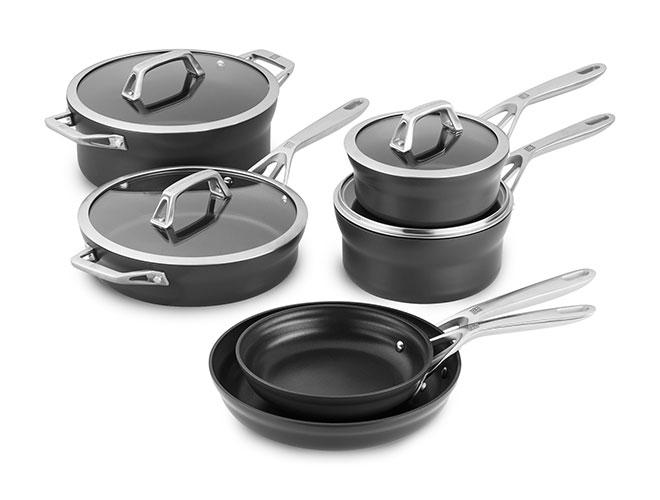 Zwilling J.A. Henckels Motion 10 Piece Nonstick Cookware Set
