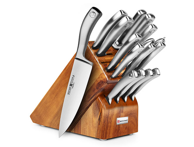 Wusthof Culinar 16 Piece Acacia Knife Block Set