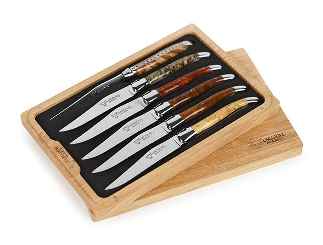 Laguiole en Aubrac 6-piece Steak Knife Sets