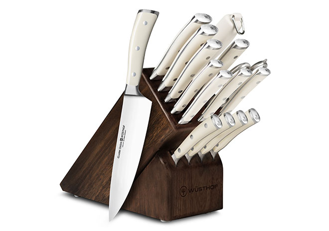 Wusthof Classic Ikon Creme 16-piece Knife Block Sets
