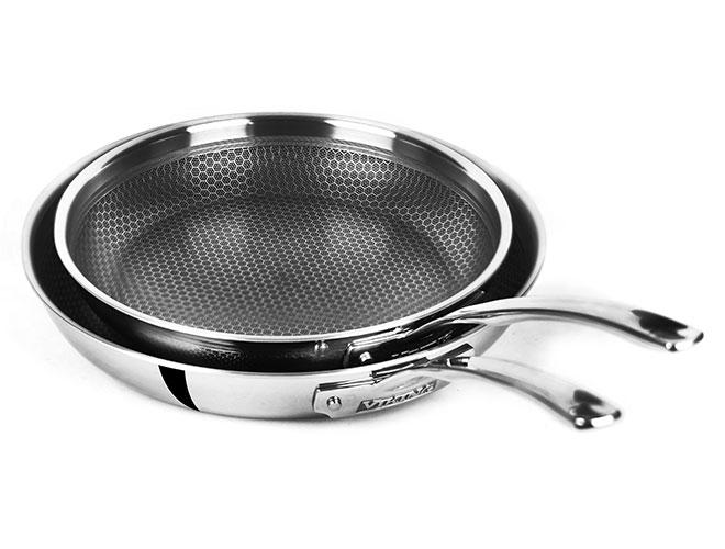 Viking Hybrid Plus Tri-Ply Nonstick Fry Pans