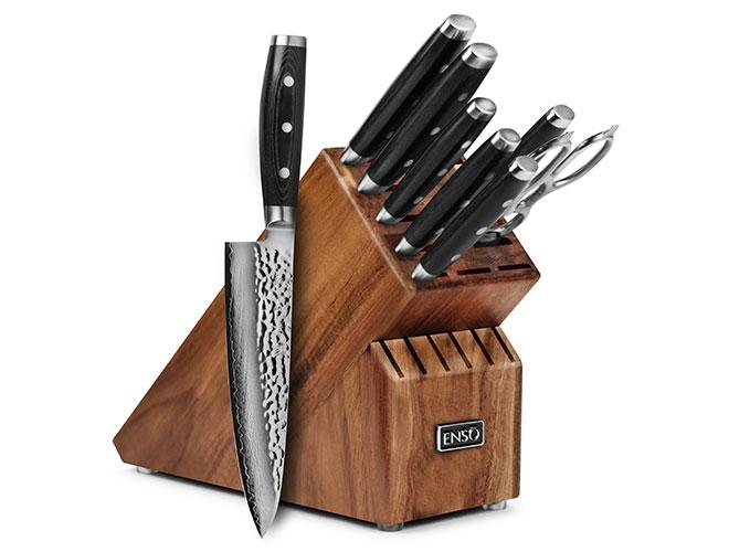 Enso HD 9-piece Knife Block Set