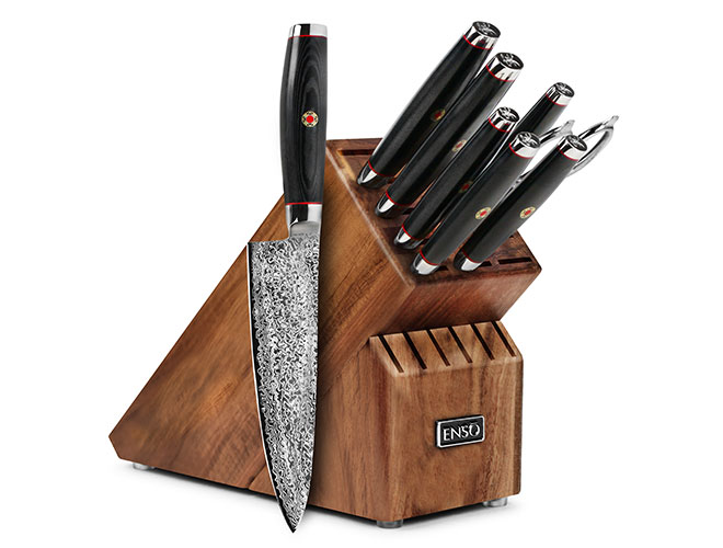 Enso SG2 9-piece Knife Block Set