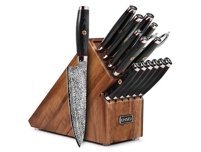 Enso SG2 16-piece Knife Block Set