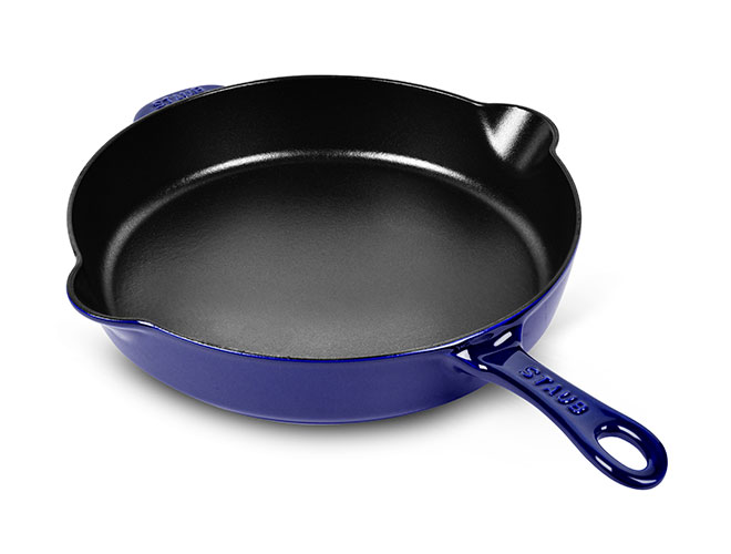 "Staub 11"" Cast Iron Deep Traditional Skillets"