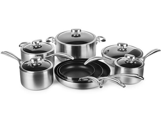 Scanpan CS+ 13 Piece Stainless Steel Nonstick Cookware Set