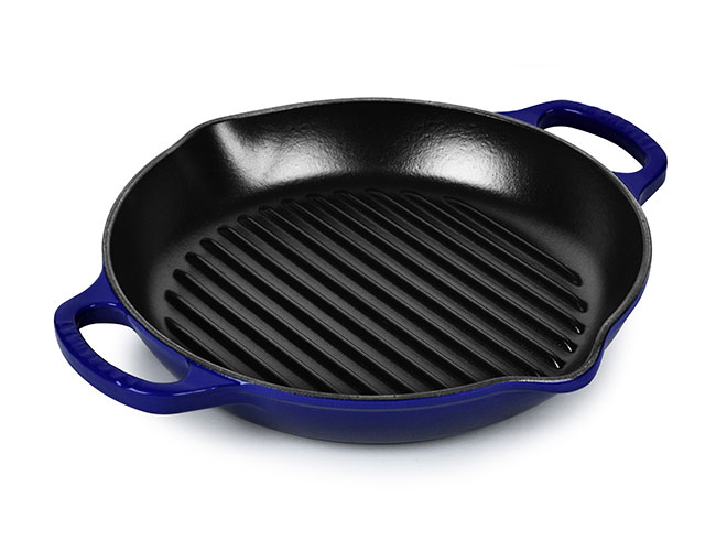 Le Creuset Signature Cast Iron 11-inch Deep Round Grills