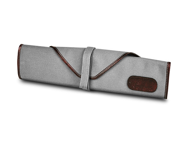 Boldric 6 Pocket Gray Small Canvas Knife Roll