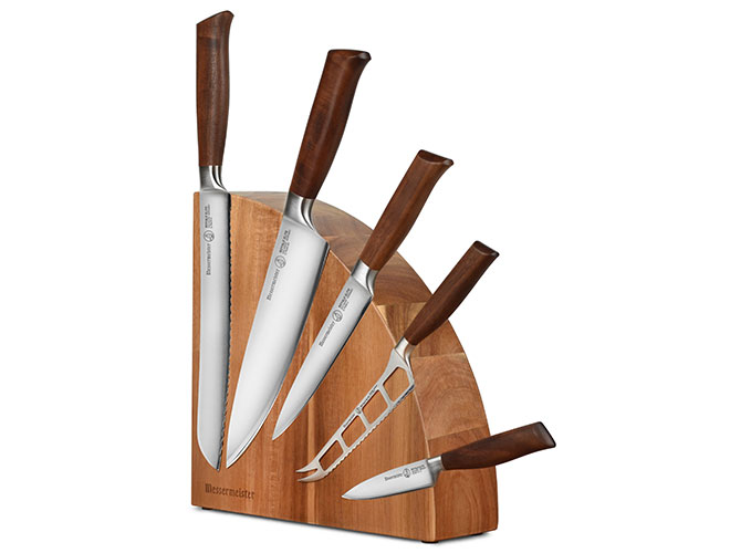 Messermeister Royale Elite 6 Piece Magnetic Knife Block Set