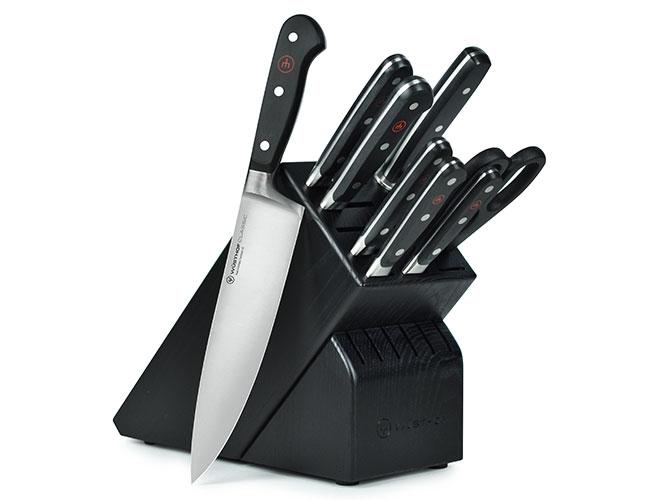 Wusthof Classic 9-piece Knife Block Sets