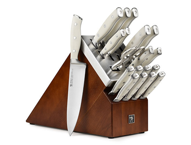 Henckels International 20 Piece Forged Accent Self-Sharpening Knife Block Sets