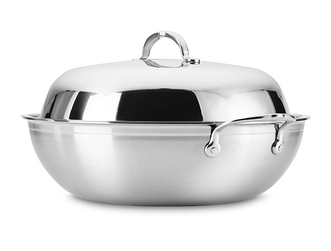"Hestan ProBond 14"" Stainless Steel Wok"
