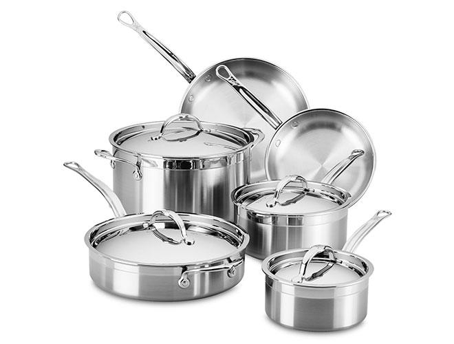 Hestan ProBond 10 Piece Stainless Steel Cookware Set