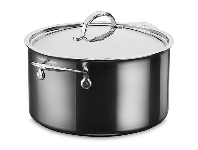 Hestan NanoBond 8-quart Titanium Stainless Steel Stock Pot