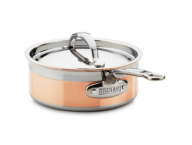 Hestan CopperBond Induction Copper Saucepans