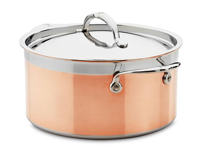 Hestan CopperBond 6-quart Induction Copper Stock Pot