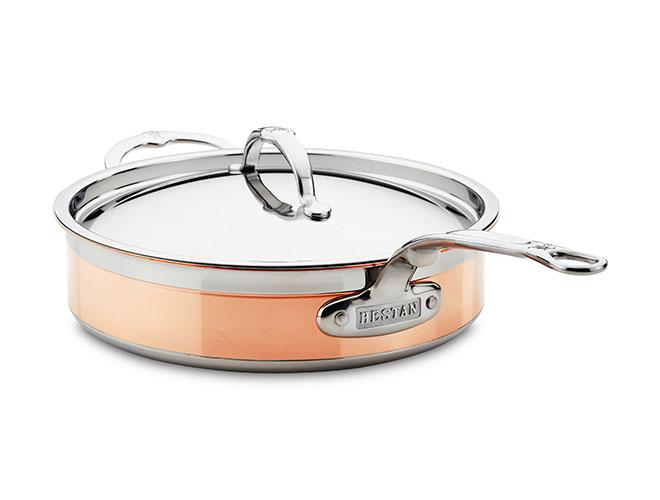 Hestan CopperBond 3.5-quart Induction Copper Saute Pan