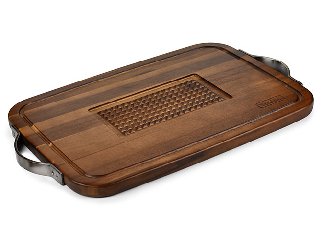 """Viking 23x14"""" Acacia Carving Board with Juice Well"""