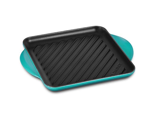 Le Creuset Cast Iron 9.5-inch Square Grill Pans