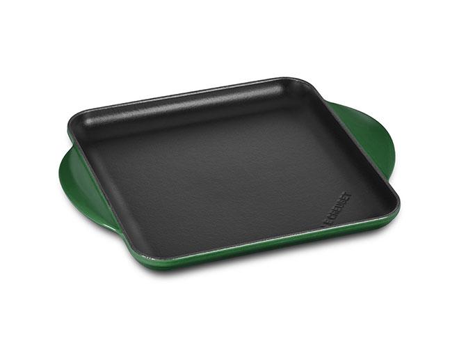 Le Creuset Cast Iron 9.5-inch Square Griddle Pans