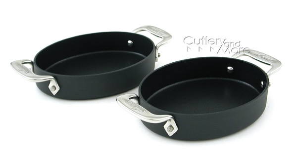 All-Clad LTD 2 Piece Nonstick Oval Baker Set