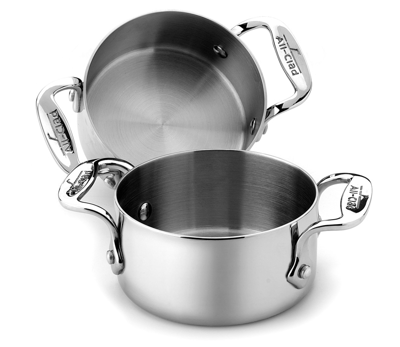 All-Clad 2 Piece Stainless Steel Soup Ramekin Set