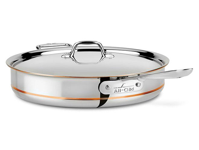 All-Clad Copper Core Saute Pans