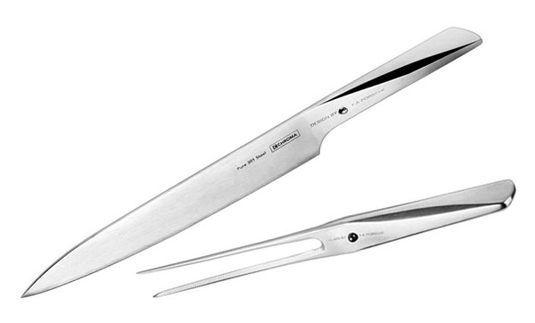 Chroma Type 301 Carving Set 2 Piece Cutlery And More