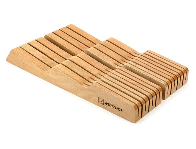Wusthof 14 Slot Natural In-Drawer Knife Storage Tray