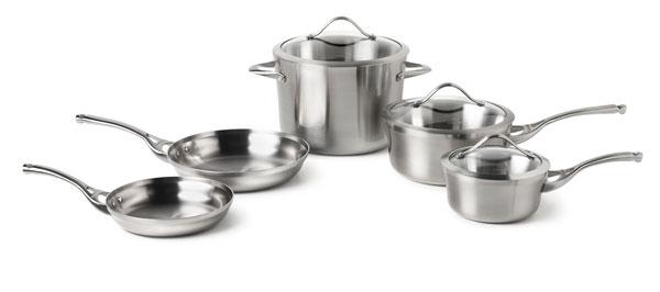 Calphalon Contemporary Stainless Signature Cookware Set 8