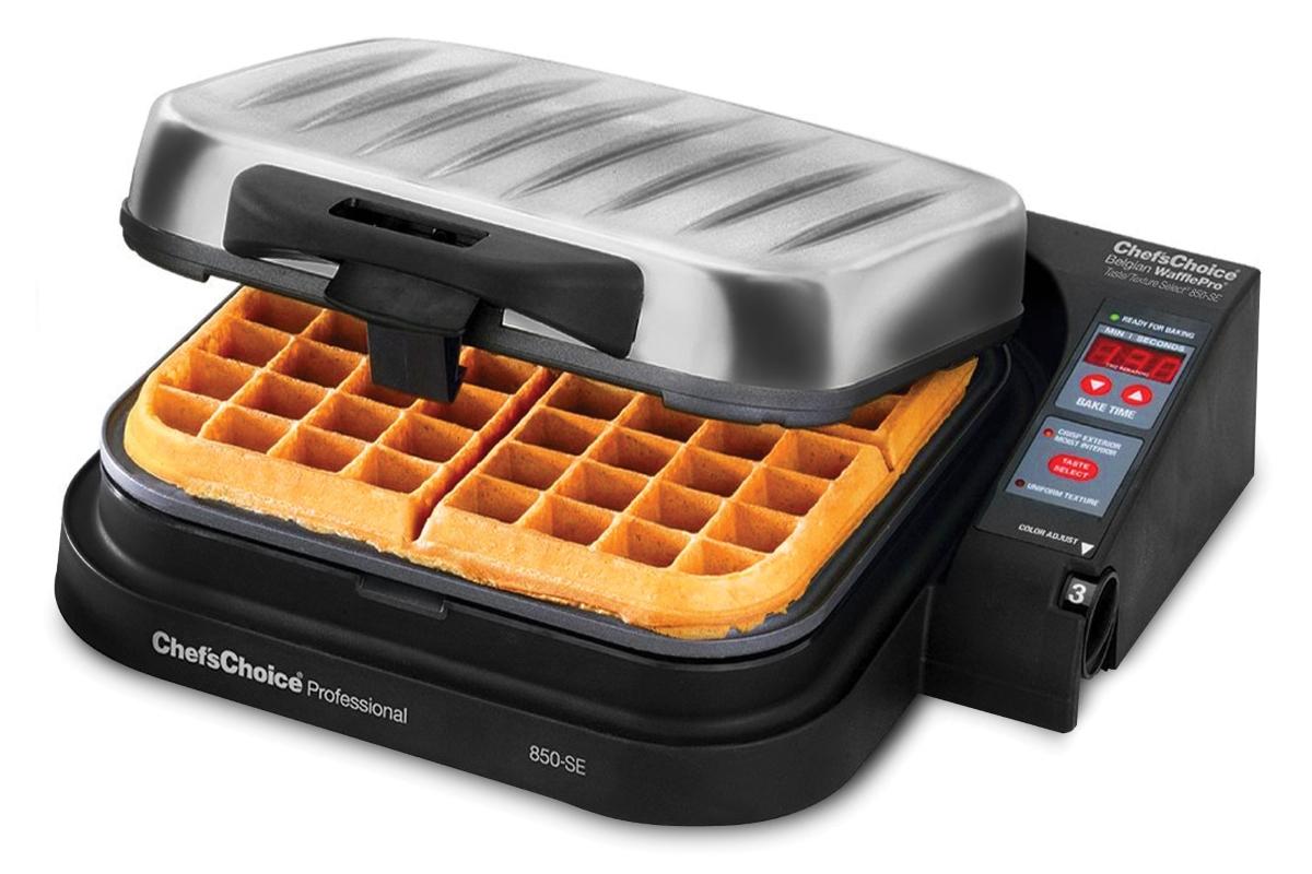 Chef S Choice Model 850 Se Wafflepro Taste Texture Belgian