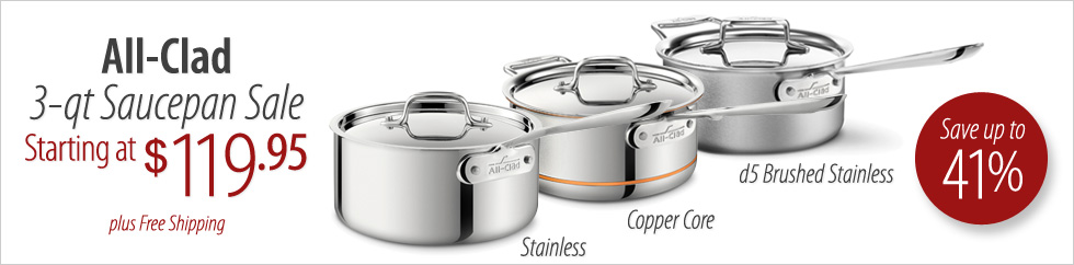 All-Clad Saucepan Sale