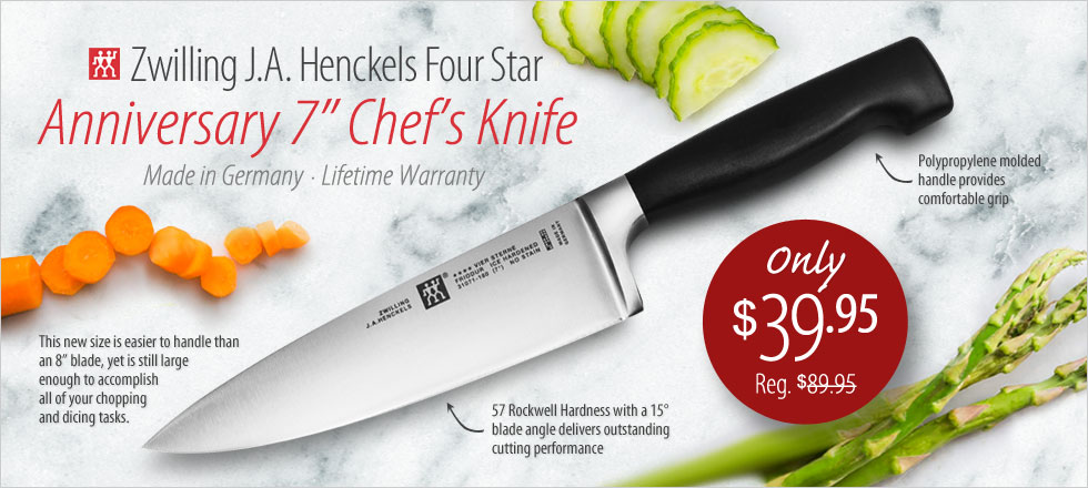 Zwilling Four Star Anniversary 7
