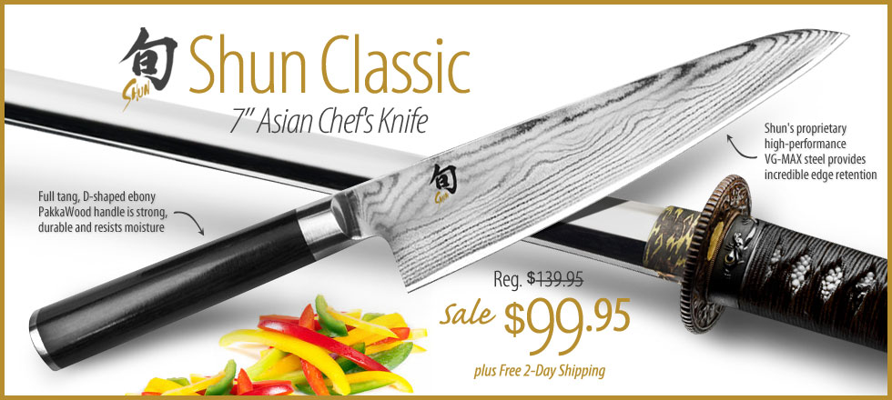 Shun Chef's Knife