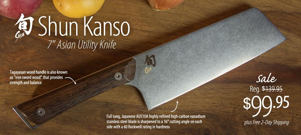 Shun Kanso Knives
