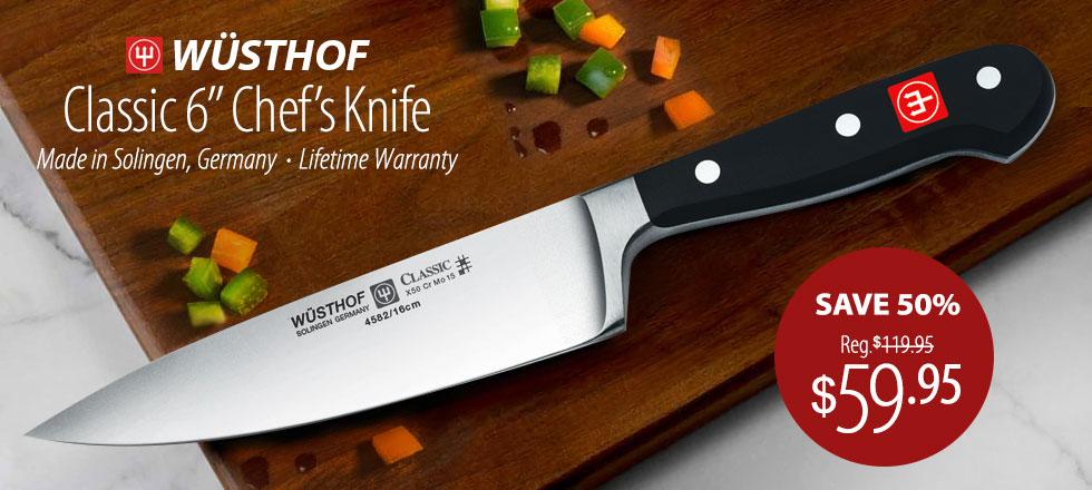 Wusthof Classic Chefu0027s Knife   Only $59.95