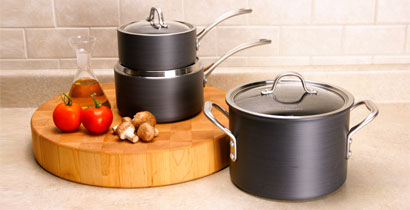 Calphalon Commercial Hard-Anodized Cookware