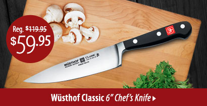 Wusthof Classic Hollow Edge Nakiri Knife